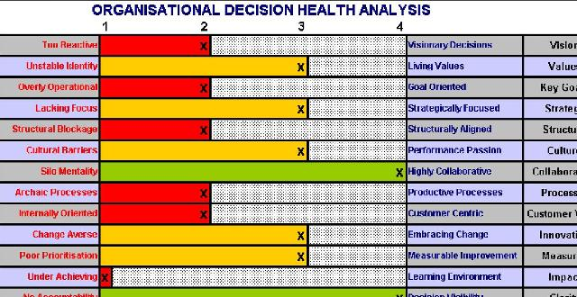 Organisational Decision Health